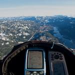 Liagardene-Flå 47,3km: Passerer Nesbyen, 31km på vei.