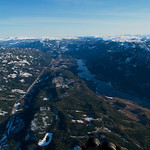 Liagardene-Flå 47,3km: Nydelig kveldstermikk